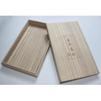 Buy Lightweight Personalised Box , Paulownia Wooden Tea Bag Storage Box With Custom Logo at wholesale prices