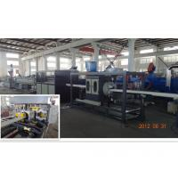 Cheap UPVC / CPVC / PVC Pipe Extrusion Line Saving Energy Conical Double Screw wholesale