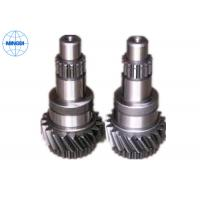 Quality 4000mm Length Black Oxide Forged Worm Gear Shaft Assembly For Large Equipment for sale