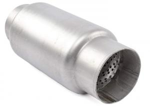 Quality Automotive 3.5 Inlet Welded Stainless Steel Exhaust Resonator for sale