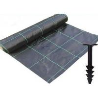 Quality Durable Heavy Duty Weed Control Membrane , High Strength Black Weedblock Landscape Fabric for sale