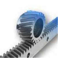 Quality Industrial Transmission Parts Steel Spur Gear Helical Rack Long Straight Bar for sale
