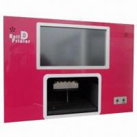 Quality 10.2 Inches Flower Printer with 50W Power, Built-in PC Touch Screen and 100 to 240V AC Input Voltage for sale