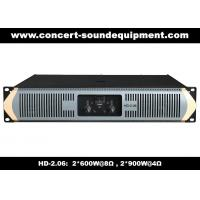 Buy cheap Analog Audio Amplifier/ 2x600W Analogue Amplifier For Fixed Installations And Living Event product