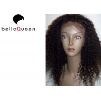 China Curly Virgin Full Lace Human Hair Wigs For Black Women hair weaving on sale