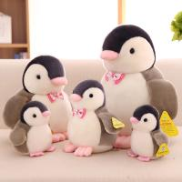 Buy cheap Customized Personalized Plush Toys Cute Penguin With Bow Tie , White and Black Color product