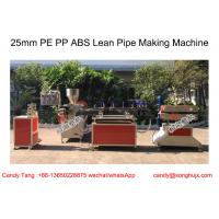 Buy cheap 25mm PE PP ABS Dark Blue Lean Plastic Pipe Production Line , Plastic Tube Machine from wholesalers