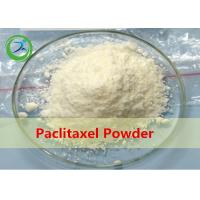 Buy cheap CAS 33069-62-4 Pharmaceutical raw materials Paclitaxel cancer treatment from wholesalers