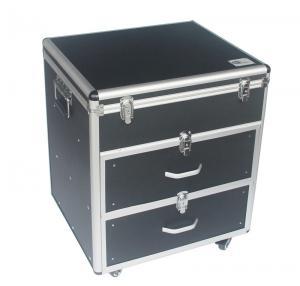 Quality Portable DVD Aluminium Storage Case , Custom Dj 500 DVD Storage Case for sale
