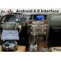 Quality Android 6.0 Video Interface GPS Navigation for 2012-2017 Nissan Patrol for sale