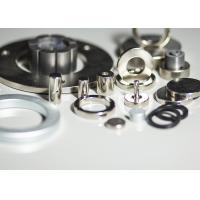 Buy cheap Zn / C - Zn Coated Strong Sintered Neodymium Magnets Generator High Safeguard product
