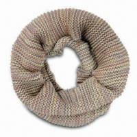 Quality Fashionable Scarf for Women, Magic Color Knitting, Moss Stitch, Can be Neck Warmer, New Style for sale