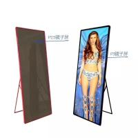 China Indoor Custom LED Display P2.5 P3 Full Color Poster Screen 1500 Nits Brightness on sale