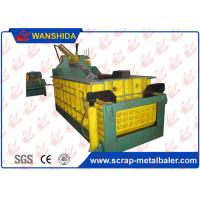 Manual Valve Control Hydraulic Scrap Baling Press 160 Ton Press force