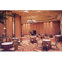 Quality Melamine Wooden Partition Wall For Banquet Hall High Sound Absorbing for sale