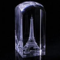 Quality Crystal Gift, 3D Engraving for sale
