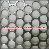 Quality mild steel perforated metal/SS Perforated metal for sale