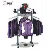 Quality Customization Clothing Store Fixtures Clothes Retail Shop Rack Shop Fittings 4-way for sale