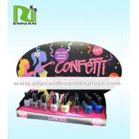 Foldable Custom Nail Polish Cardboard POP Displays For Promotion
