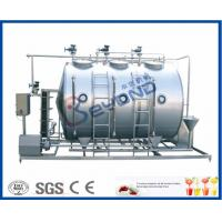 Quality 500L/800L/1000LPH   Small Conjunct Type Cleaning In Place machine/CIP Cleaning System for equipment washing for sale