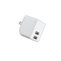 Quality Foldable Prong 5V 2.4A Dual USB Flip Charger 617059 TBC for sale