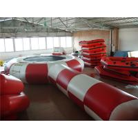 Quality Eco Friendly Inflatable Water Trampoline , Inflatable Outdoor Games For Beach for sale