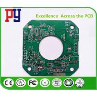 China Fr4 Double Sided Printed Circuit Board 1.6MM Thickness 1.0oz Green Solder Mask on sale