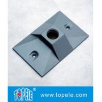 Quality Three Holes Electrical Weatherproof Rectangular Covers Aluminum Gaskets & Screws for sale
