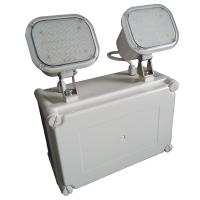 Quality Waterproof Led Rechargeable Twin Spot Emergency Lights With Wall Surface Mounted for sale