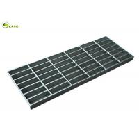 Quality Galvanized Drainage Bar Mesh Grating Plate Bearing Perforated Stair Nosing Tread for sale