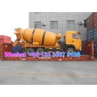 Quality LHD & RHD 6x4 Euro5 Tri-Ring 375HP 8--12CBM concrete cement mixer truck for Vietnam for sale