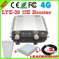 Quality Hot Sale Cover 500m2 New LTE Mobile Signal Amplifier 65db 4G 2600MHZ Signal Booster 4G LTE for sale