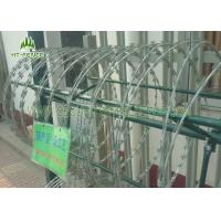 China Electrophopresis Painting Security Razor Wire450mm Diameter For Prison Mesh on sale