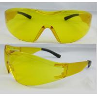 China Yellow Fashion Eye Protection Glasses with Anti-Laser rays for Night driving and pilot on sale