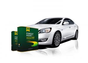Quality Standard 1K Basecoat Metallic Pigment Pearl Automotive Paint for sale
