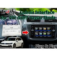 Quality Two - In - One Unit Android Auto Interface Easy Installation With Built - In Mirrorlink for VW for sale