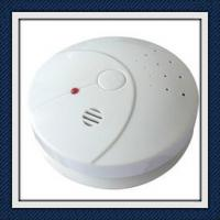 Quality ABS Plastic Photoelectric Smoke Detector Alarm With Low Battery Warning EN14604 for sale