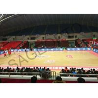 Quality Basketball Stadium Perimeter Led Display Screen 6mm High Definition Aluminum Cabinet for sale