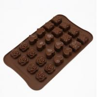 China Birthday Silicone Sweet Moulds, Funny Silicone Hard Candy Molds FDA Approved on sale