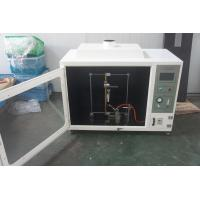 Quality UL Standard Flammability Test Apparatus For Cable / Wire 220V AC10A for sale