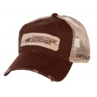 Back Cotton Twill Mesh Trucker Hats Embroidery Logo Available 52cm - 62cm