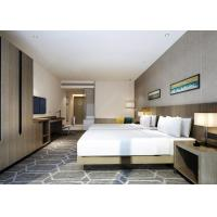 China King Size Hotel Bedroom Furniture Sets Modern Appearance Commercial Use on sale