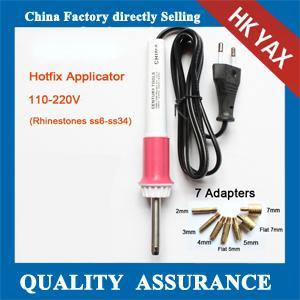 China T0819 YAX High quality hot fix rhinestones applicator,rhinestones hot fix applicator,hot fix applicator for rhinestones on sale