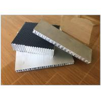 Quality Yacht / Boat Interior Construction Aramid Honeycomb Panels Basalt Fiber Prepreg Surface for sale