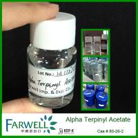 Quality Farwell Kosher Certificate Natural Alpha Terpinyl Acetate 95% min for sale