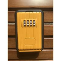 Quality Digital Combination Outdoor Door Key Safe Box Black & Yellow for sale