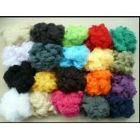 Buy polyester staple fiber 15Dx64mm Hollow conjugated non siliconised at wholesale prices