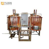 Quality 300l 500l red copper beer brew kettle / brewing tank for sale for sale