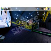 Quality Arc / Flat Screen Electric Simulator 4D Movie Theater Home Theater System Simulator for sale