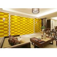 Quality Empaistic 3D Home Decal  Natural Fiber Wallpaper , Modern Colored 3D Wall Sticker for sale
